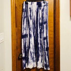 NWOT Earthbound Tie Dye Maxi Skirt